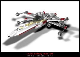 Lego X-Wing Fighter by wilde-media