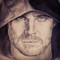 Stephen Amell as Oliver Queen in Arrow. by PatrickRyant