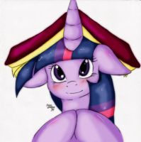 Twilight's Bookhat by Suirano