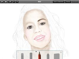 WIP.Martina Stoessel.But I'm bad artist by Chicago-aka-PopPixie