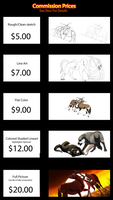 Commission Prices 2013 by Whitelupine