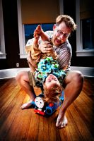 Father and Son by BobbityJones