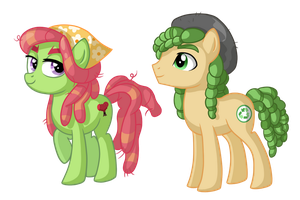 Hippie Ponies by TheCheeseburger