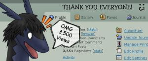 3,500 Views by Dante3o3
