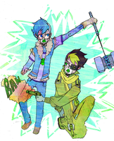[zombie apocalypse on the handy] by Freed-Alice