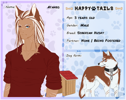 Happy Tails - Ataneq by Sacredium
