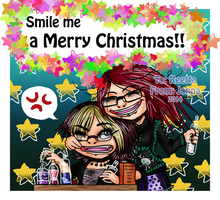 Gift- Smile me a Merry Christmas! by Yorulla