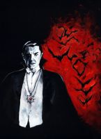 Count Dracula by deviantdoodles