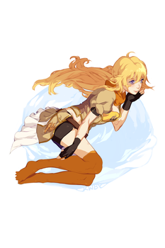 RWBY | Yang Xiao Long by catne
