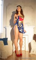 Time for Sexy Wonder Woman Legs featuring Elena by LegsEmporium