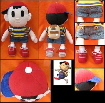 Ness - Earthbound by A-chan--Creations