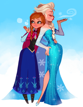 Lets build a snowman by Kiddy-chan