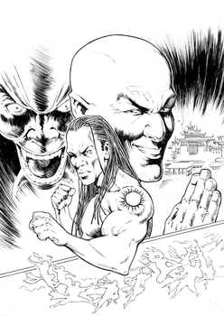 GI Bro 01 Cover Inks by MikaelNoon92