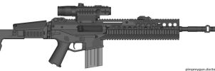 FN-18 Assault Rifle by LBFable