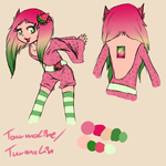 .: Tourmaline - Sketch :. by AquaLuna112