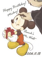 Happy Birthday Mickey 2006 by hat-M84