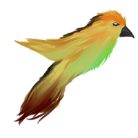 So I drew a birdy. by Allixi