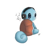 Musical Squirtle by marikots