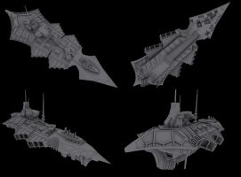 Styx Heavy Cruiser WIP by Null-Entity