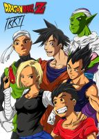 Dragon Ball Characters Test by KukuruyoArt