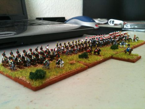 6mm Napoleonics 70 by DarvenTravos