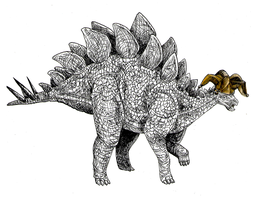 Stegosaurus: Fool's Gold by Lemguin