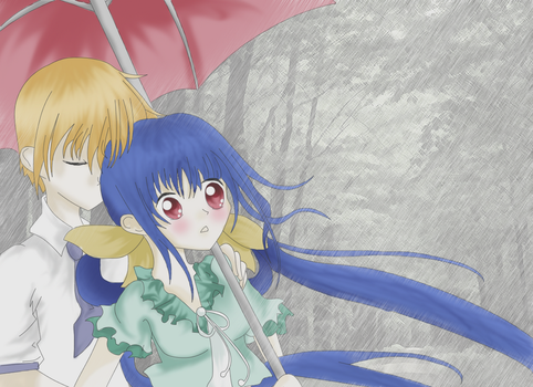 In the Rain by Nagisa-Furukawa