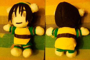 Toph Plushie by Ferngirl