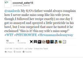 Horror tweets to snailords entry #2 by coconut-eater