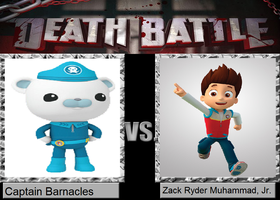 Death Battle - Captain Barnacles vs. Ryder by MatthewJabezNazarioI