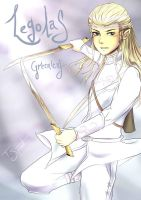Prince Legolas Greenleaf by talespirit
