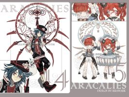Aracalies 14+15[closed] by Krawark