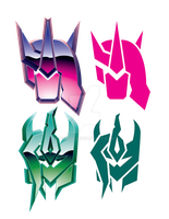 PonyFomer Faction Symbols by TRice01