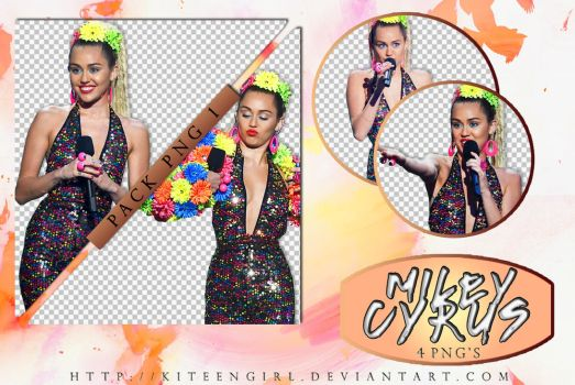 Miley Cyrus - PACK PNG 1 by Kiteengirl