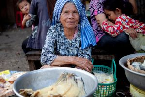 Faces of Cambodia II by Solarstones