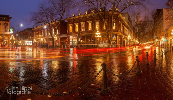 Vancouver Gastown Panorama by quintz