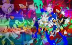 Sonic, Shadow, Silver, Blaze, Knuckles - Wallpaper by SonicTheHedgehogBG