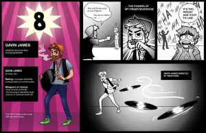 Scott Pilgrim: Number 8 by theartful-dodge
