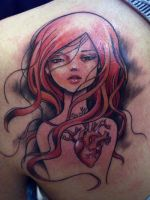 HEART GIRL by mojoncio