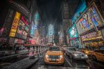 Times Square by Tomoji-ized
