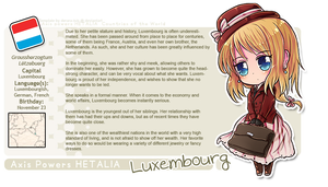 Luxembourg OC Profile by say0ran