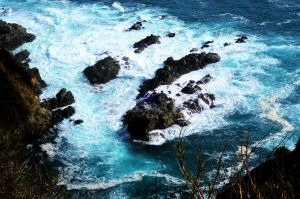 Big Sur Waters by mightystag