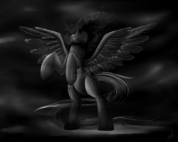 The Headless Pegasus by ValkyrieSkies