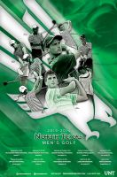 north texas mens golf by Satansgoalie