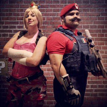 Mushroom Kingdom Special Forces by jakecastorena