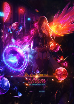 [Collab]Nocturnal Bloom by SeventhTale