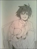 L Lawliet by IntoTheNothing