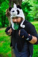 Pancham Fighting Pose!!! by chefblackbeard