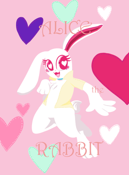 ALICE the BUNNY by Butterscotch-Angel