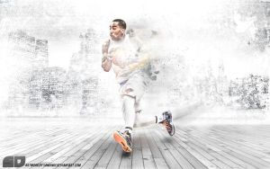 JR Smith by Sanoinoi